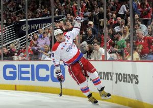 Would Ovechkin leave the glamor of the NHL in favor of the KHL? (Photo by Bill Smith)